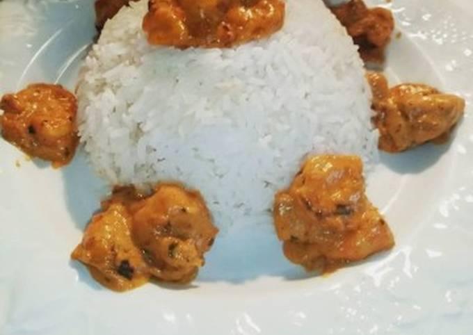 Cari crevettes au cookeo
