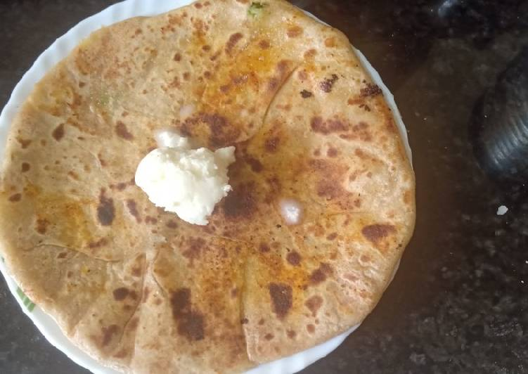 Recipe of Homemade Aloo paratha