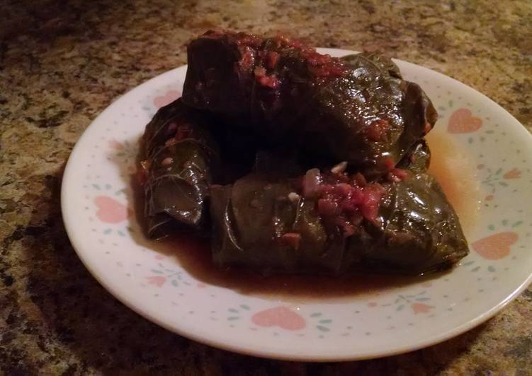 Simple Way to Make Perfect Stuffed Grape Leaves