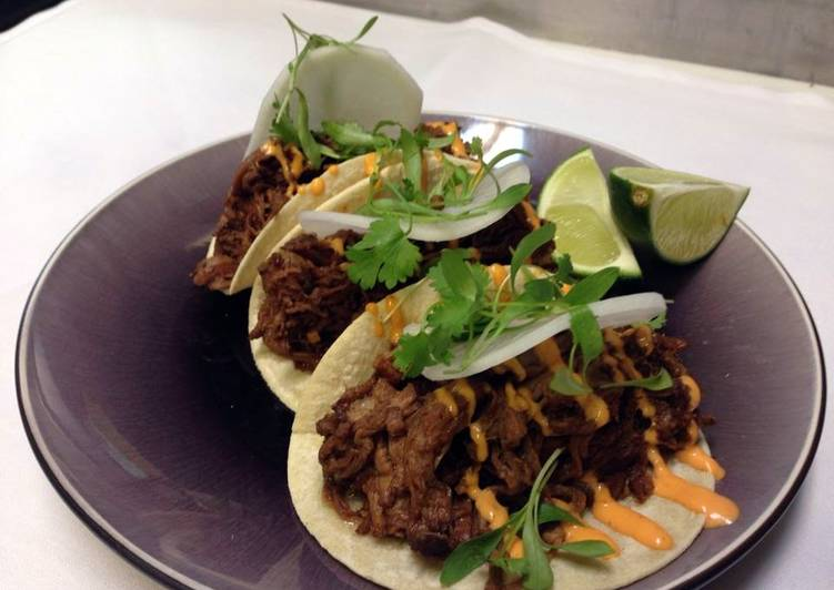 What are some Dinner Easy Award Winning Asian beef tacos