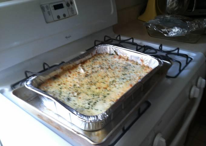 Hot Orzo Casserole