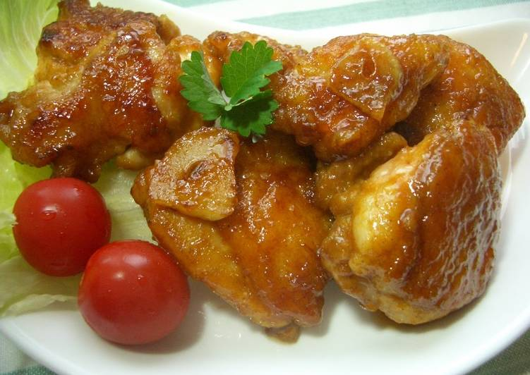 Chicken with Curry-Oyster Sauce