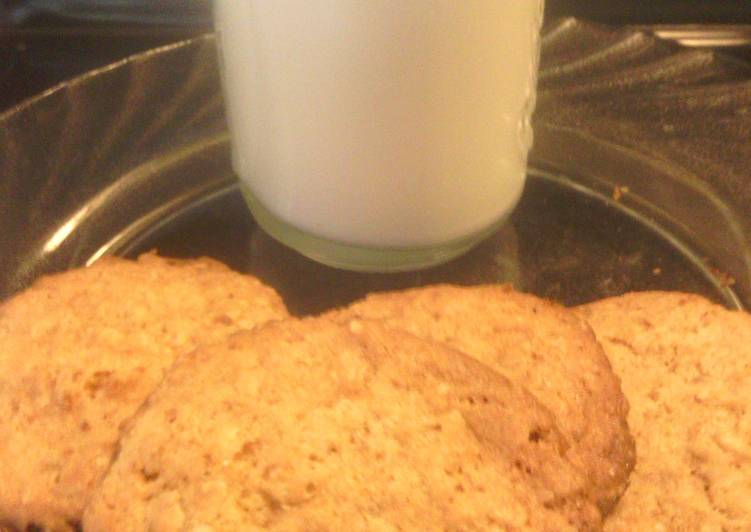Step-by-Step Guide to Prepare Quick sunshines crispie lemon oatmeal cookies