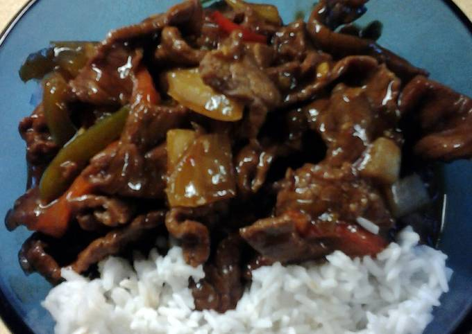 Chinese Peppersteak #4