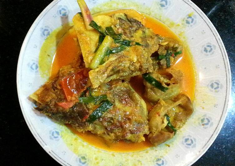 Fish Curry /Gulai Ikan