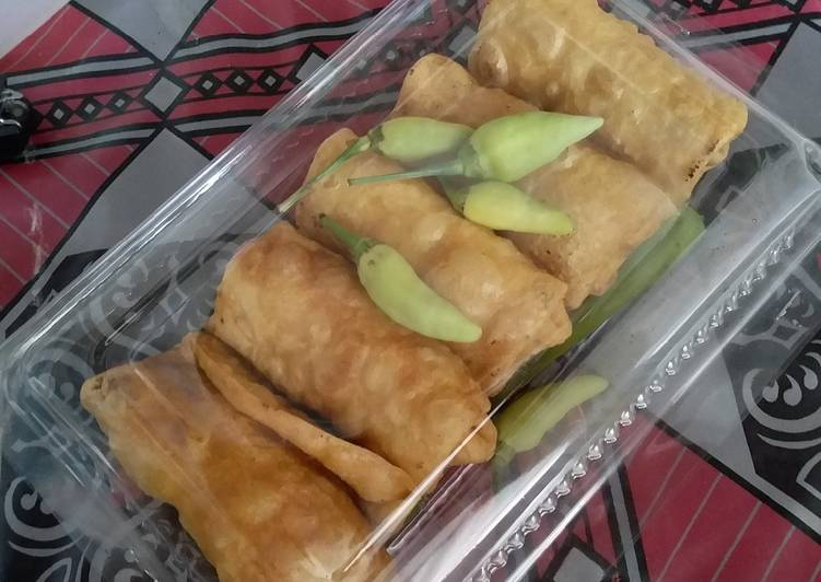 How To Cook Delicious Lumpia Isi Ayam Sayur