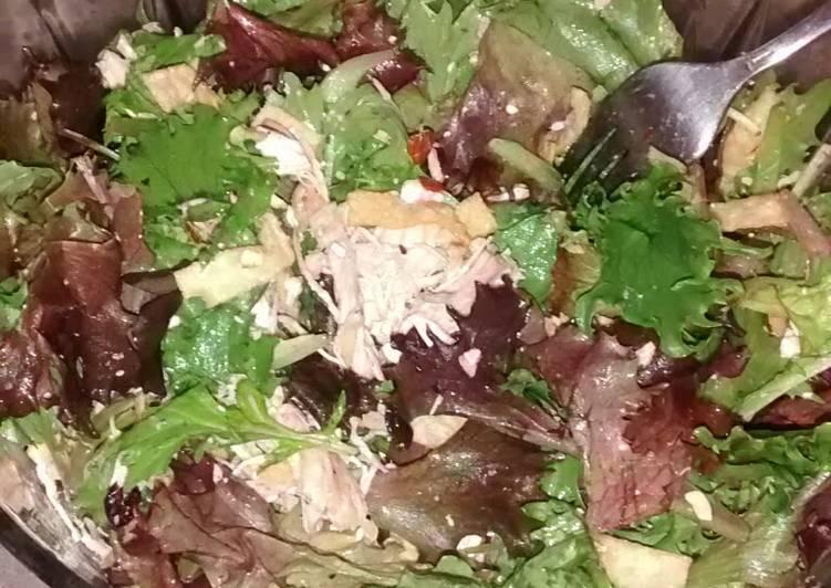 Recipe: Tasty Crunchy Cranberry Chicken Salad
