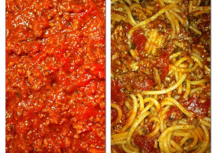 Recipe of Homemade Spaghetti Sauce