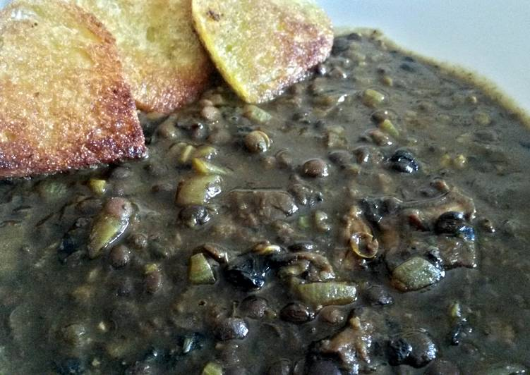 Easiest Way to Prepare Quick Sig's Lentil Autumn Soup Boost