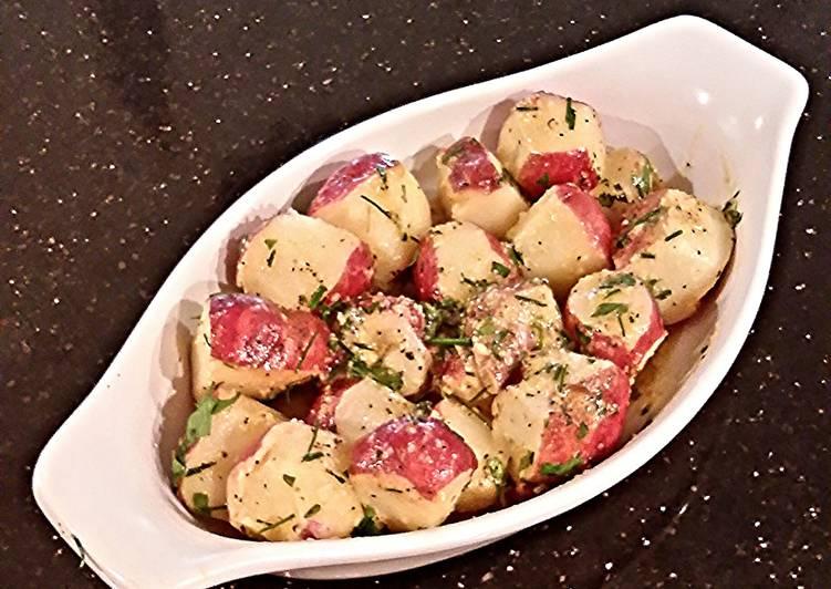 Easiest Way to Make Favorite Garlic Herb Small Red Potatos