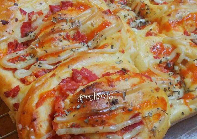 Pizza Roll Anak Tangga 😂😂😂