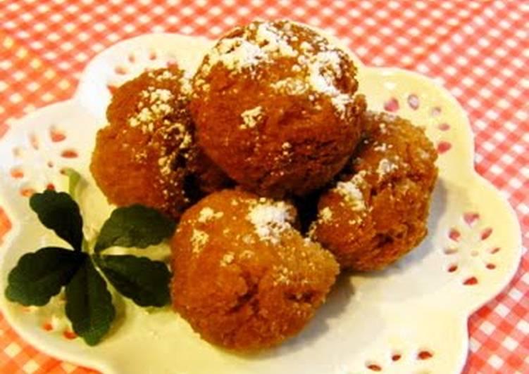 Recipe of Quick Crisp Donut Holes with Pancake Mix