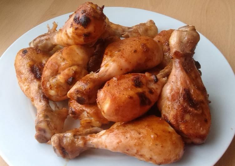 Vickys BBQ Chicken Drumsticks, GF DF EF SF NF