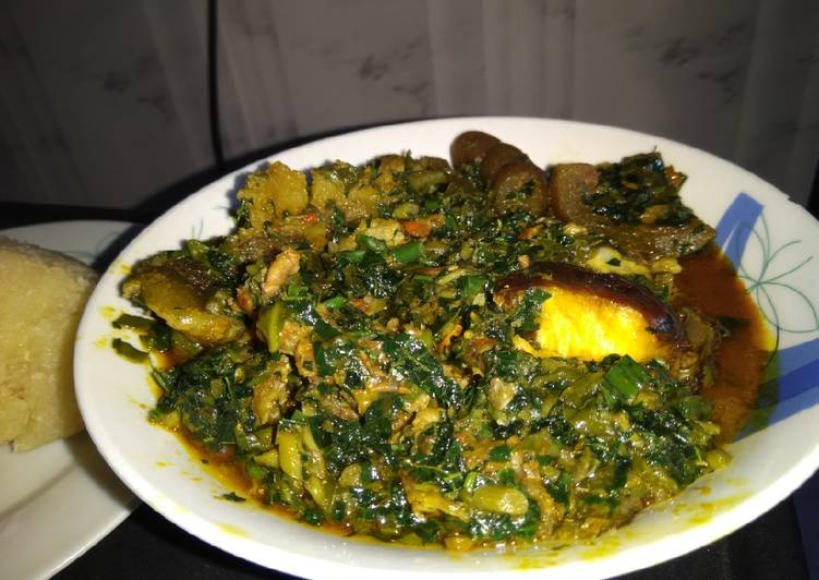 EdikaIkong (vegetable) soup, Finding Healthful Fast Food