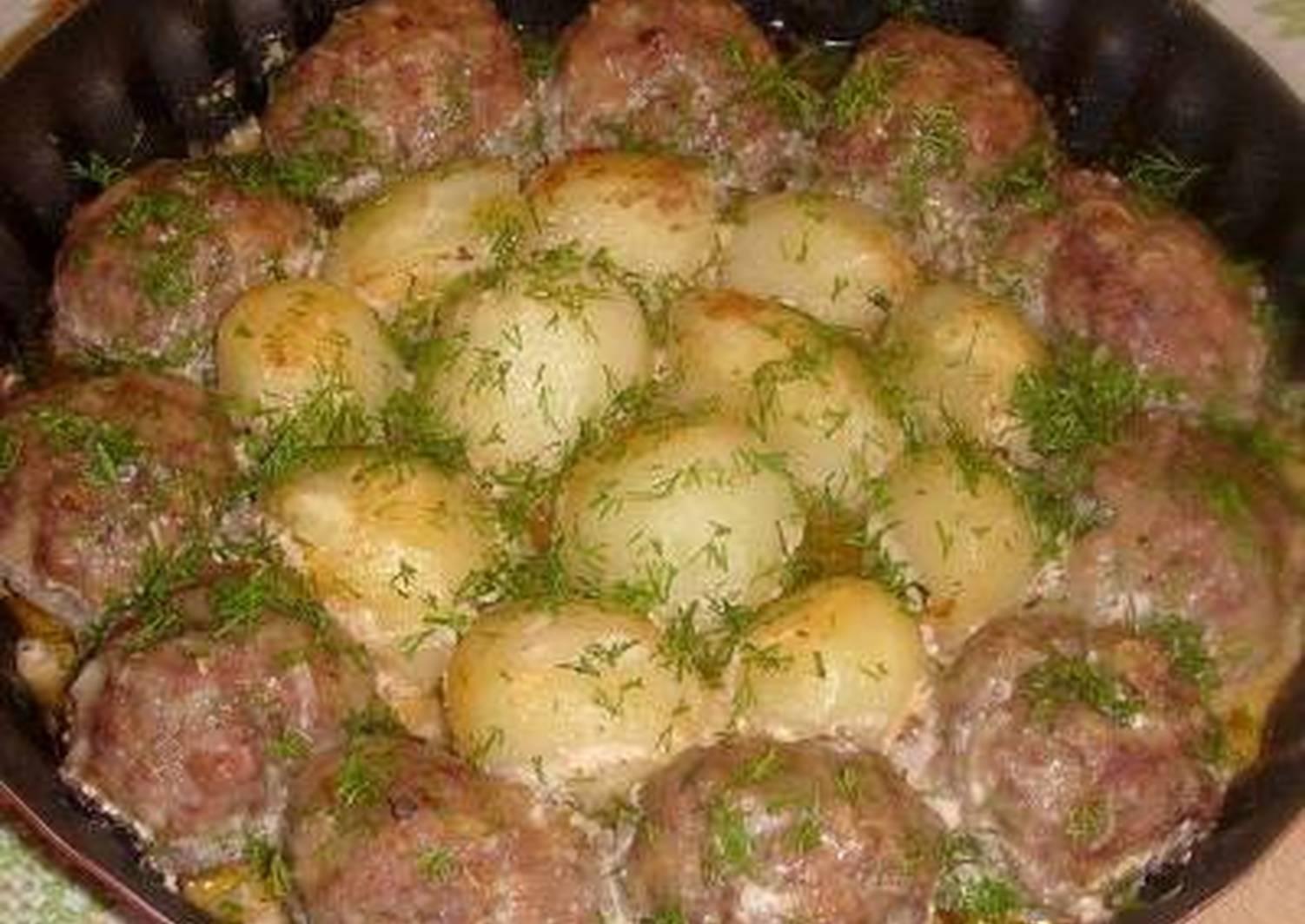 фото рецепты блюд из фарша и картошки хочется чтобы легкое