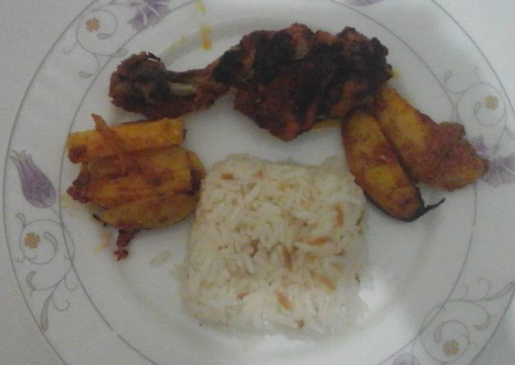 Fırında tavuk (ayam panggang versi turki)