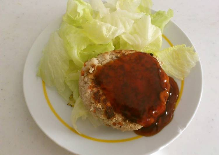 Low-Carb Okara Hamburgers - Laurie G Edwards