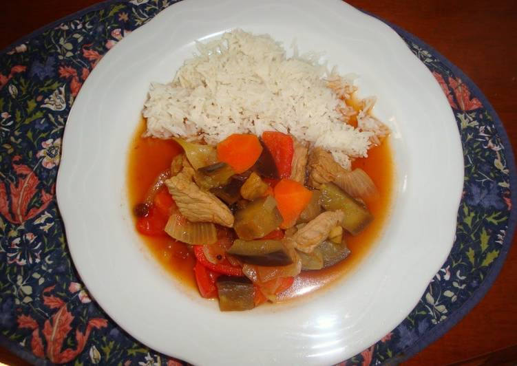 Easy Sweet and Sour Pork with Chutney, Choosing Fast Food That's Good For You