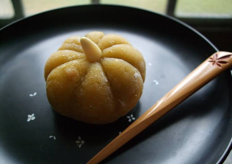 Consuming 14 Superfoods Is A Good Way To Go Green For Better Health Halloween Wagashi - Kabocha Squash Mochi