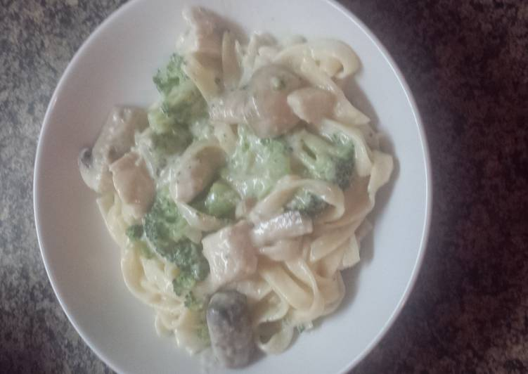 Loaded chicken Alfredo – Delish Cookbooks