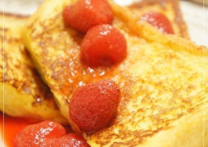 Recipe: Appetizing Easy Fluffy French Toast — A Golden Ratio Recipe