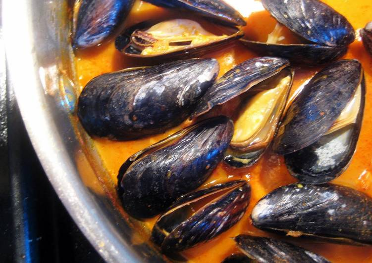 Easiest Way to Prepare Tasty Thai Curry Mussels