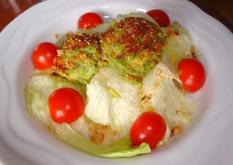 Easiest Way to Cook Yummy Lettuce and Avocado Salad