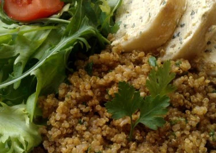 Recipe: Yummy Vickys Toasted Quinoa Pilaf, Gluten, Dairy, Egg & Soy-Free