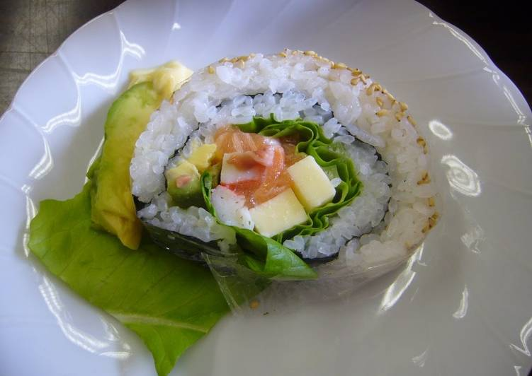 Recipe of Any-night-of-the-week Japanese-Style California Roll