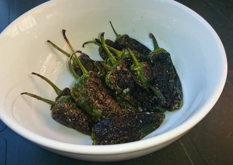 Step-by-Step Guide to Prepare Speedy Toasted Pardon Peppers