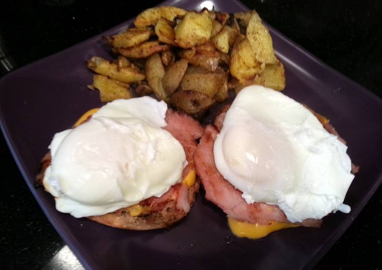 Recipe of Favorite Healthy Eggs Benedict