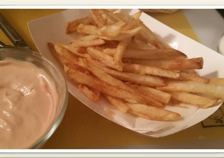 FRENCH FRIES and Sloppy Sauce