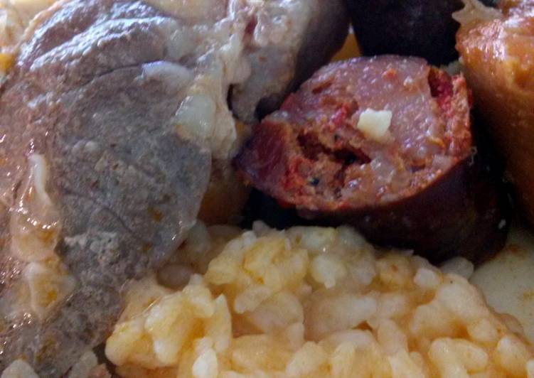 Easiest Way to Make Speedy potatoes and meat portuguese boiled style (cozido a portuguesa)