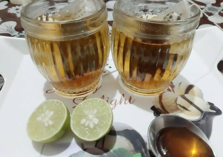 Recipe: Delicious Green tea