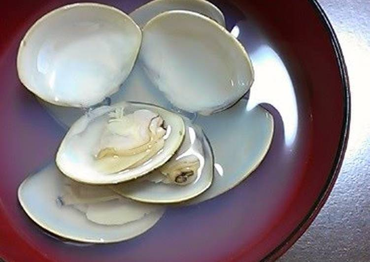 How to Cook Perfect Simple and Delicious Hamaguri Clam Soup