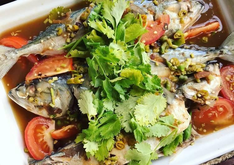 Ikan Kembung Kukus Air Asam - resepipouler.com