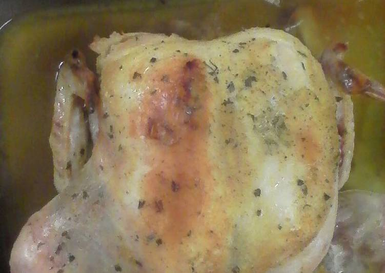 How to Prepare Appetizing Whole baked chicken