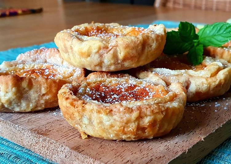 12. Pastei de Nata | Portuguese Custard Tart
