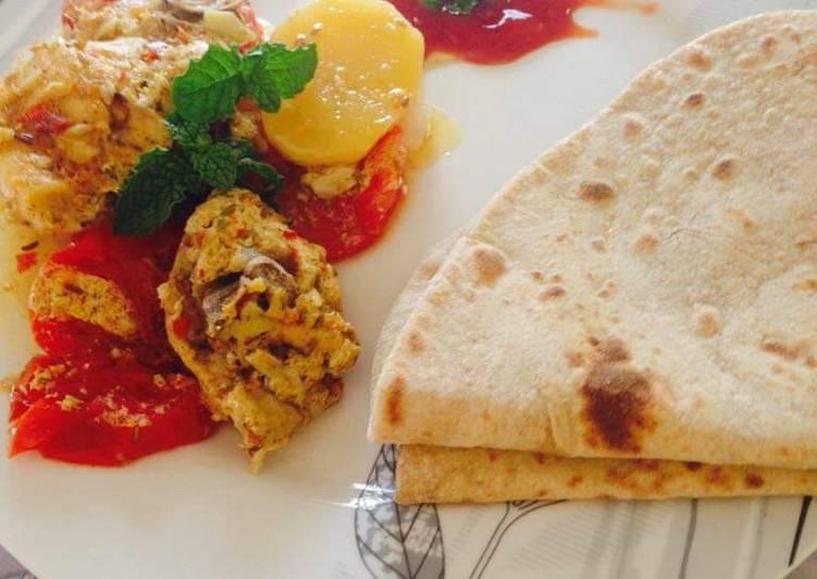Steps to Prepare Award-winning Pan steam chicken with masalay dar sabzi