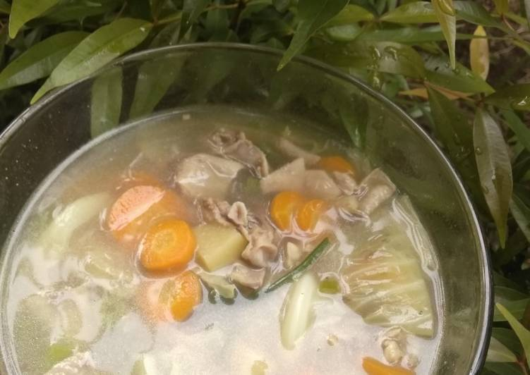 Sup Ayam Praktis