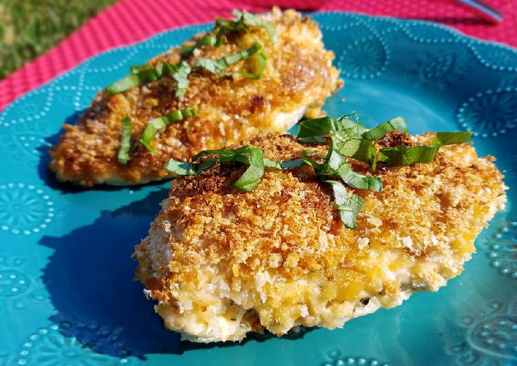 Parmesan Mayo Crusted Chicken