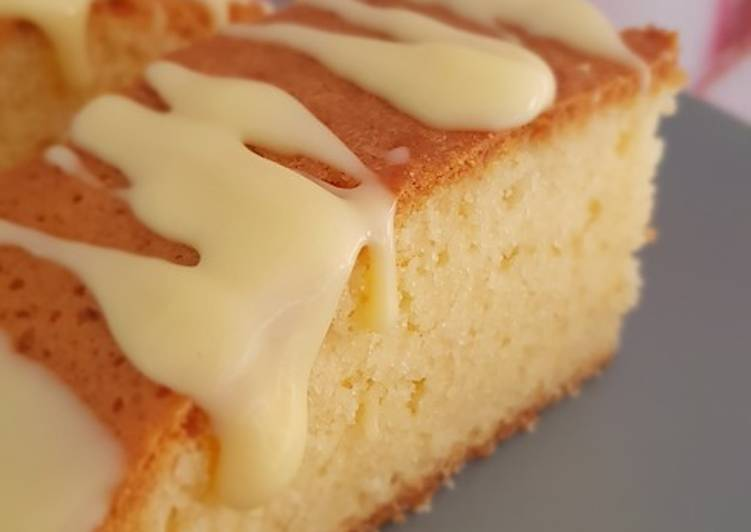 Recipe: Perfect Wiltshire White Chocolate Blondie