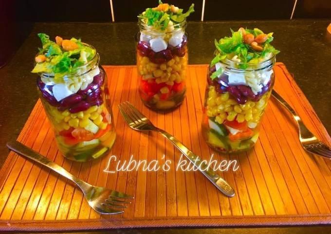 Salad in a Jar: