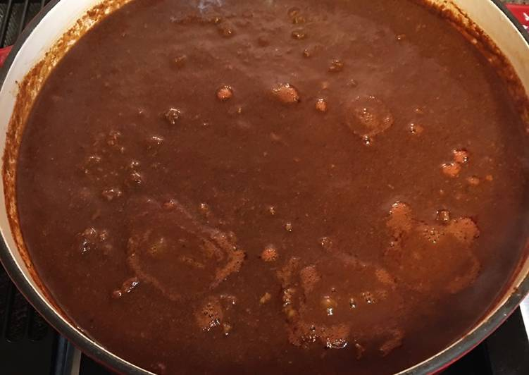 Recipe: Delicious Homemade Chili