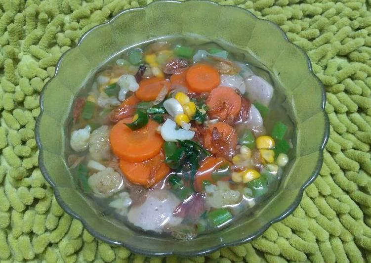 Resep Sayur Sop Tanpa Minyak Oleh Tria Febrina Cookpad