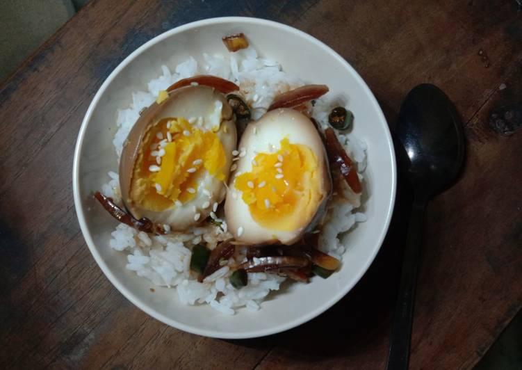 Resep Mayak gyeran (Telur candu Korea) Anti Gagal