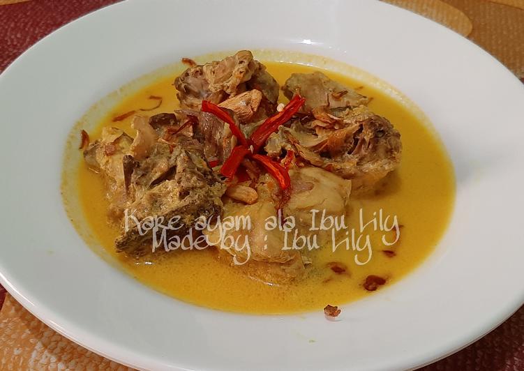 34. Kare Ayam ala Ibu Lily - cookandrecipe.com