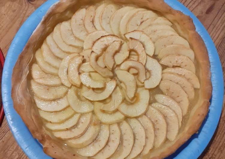 Comment faire Préparer Délicieux Tarte aux pommes saine et légère