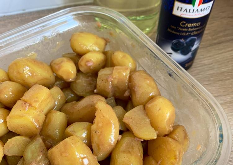 recette Salade de pommes de terre 🥔 balsamique délicieux