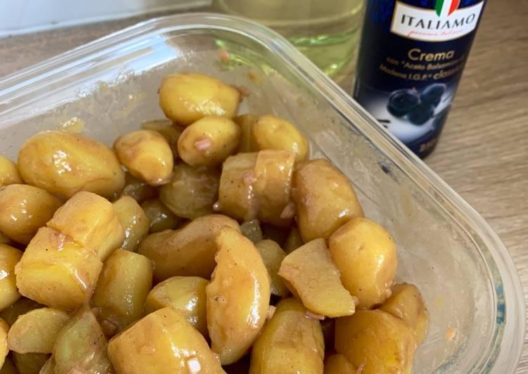 Recette: Salade de pommes de terre 🥔 balsamique
